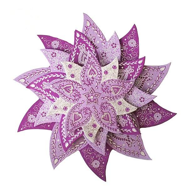 インド chimanlals(チマンラール) 飾り 模様【画像2】