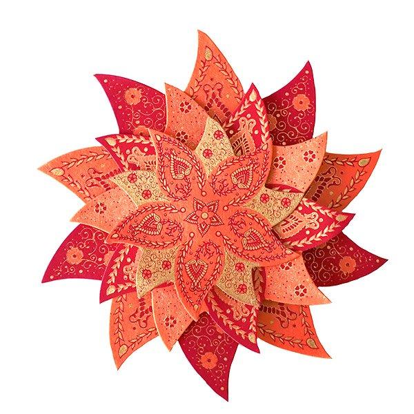 インド chimanlals(チマンラール) 飾り 模様【画像3】