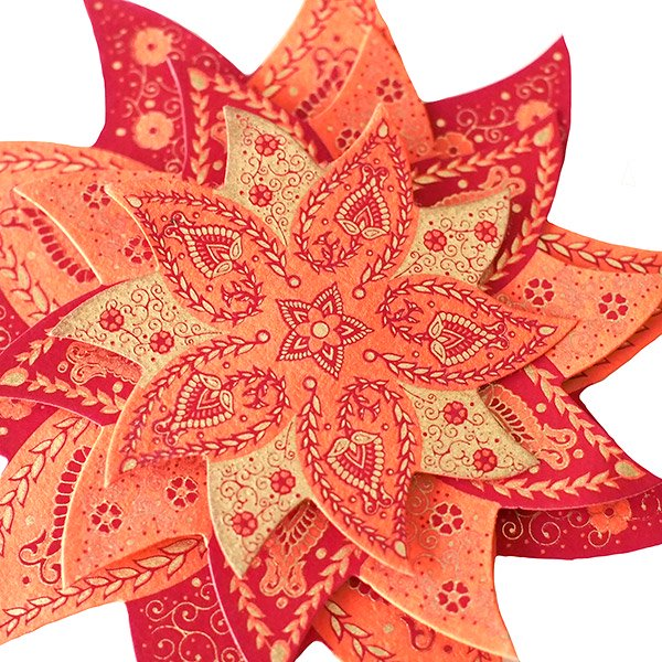 インド chimanlals(チマンラール) 飾り 模様【画像7】