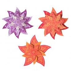 インド chimanlals(チマンラール) 飾り PUSHPA 模様