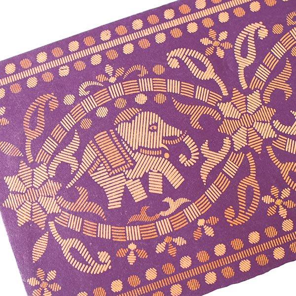 インド chimanlals(チマンラール)の封筒 ゾウ【画像2】