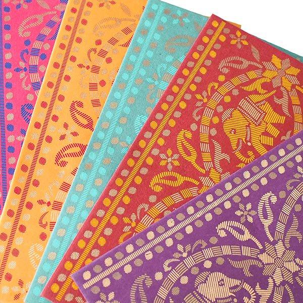インド chimanlals(チマンラール)の封筒 ゾウ【画像3】