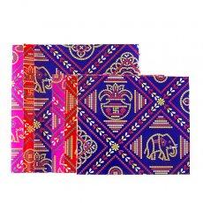 インド ラッピング 包装紙(アソート12枚入り)