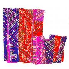 インド ラッピング 包装紙(コラージュ素材)