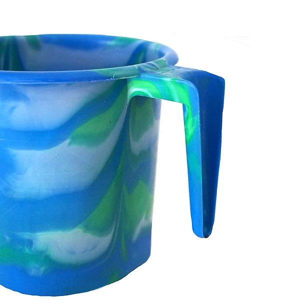 セネガル プラスチックコップ(1リットル ブルー)【画像2】