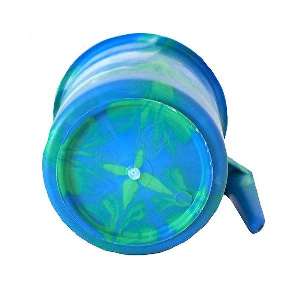 セネガル プラスチックコップ(1リットル ブルー)【画像4】