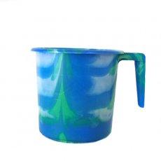セネガル プラスチックコップ(1リットル ブルー)