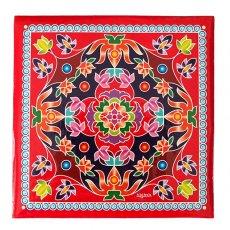 インド ランゴリ ステッカー(四角 A 24.5×24.5)
