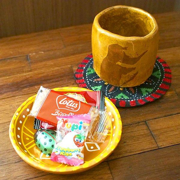 インド  素焼きの小皿