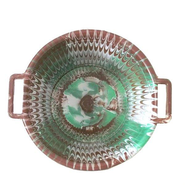 セネガル プラスチック持ち手付きの桶(ブラウンA  12リットル)【画像3】