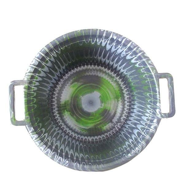 セネガル プラスチック持ち手付きの桶(グレイ 12リットル)【画像3】