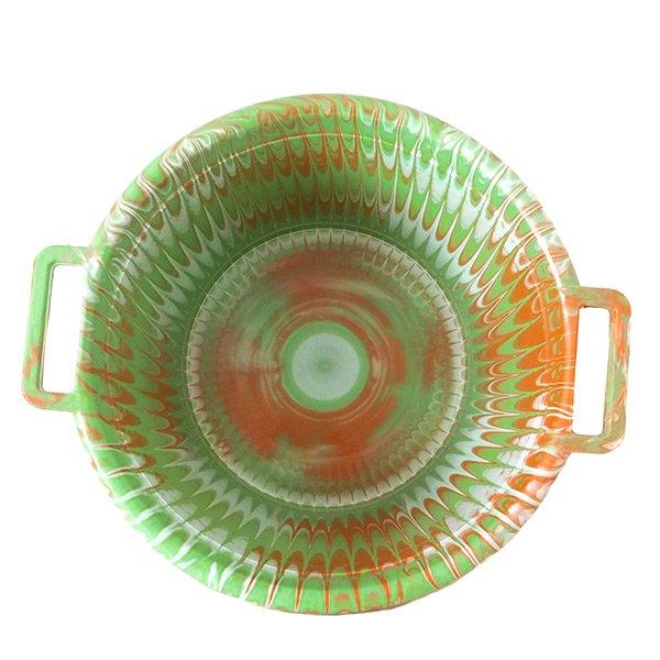 セネガル プラスチック持ち手付きの桶(キミドリ 12リットル)【画像3】