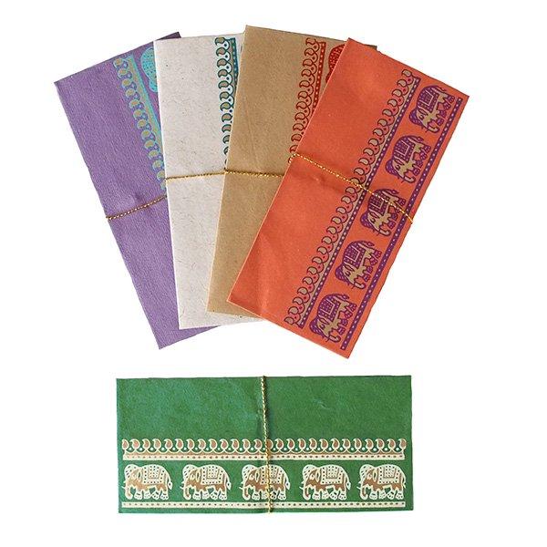 インド chimanlals(チマンラール) の封筒 ゾウ B