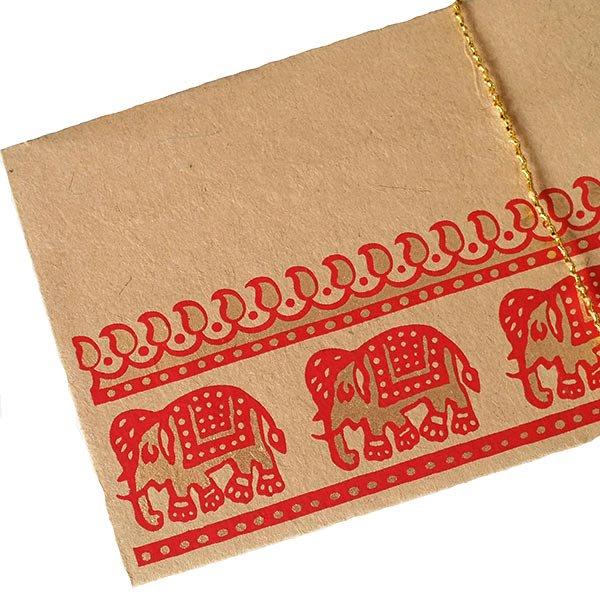 インド chimanlals(チマンラール) の封筒 ゾウ B【画像4】