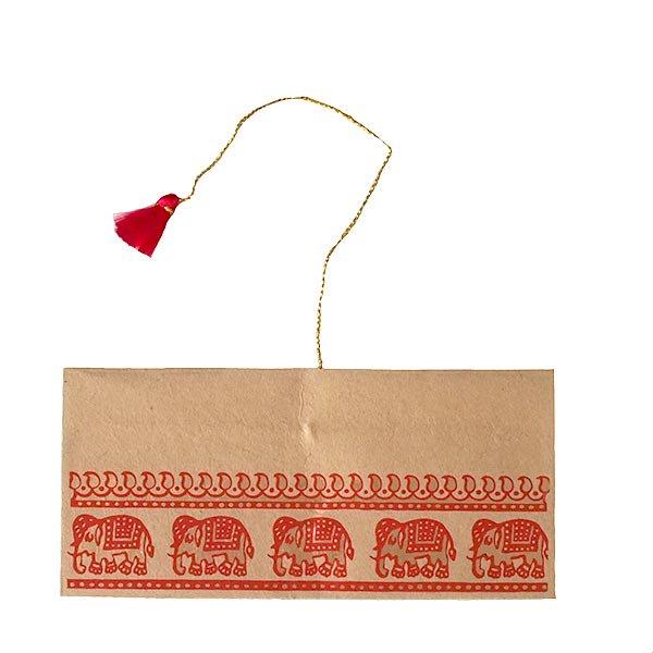 インド chimanlals(チマンラール) の封筒 ゾウ B【画像5】