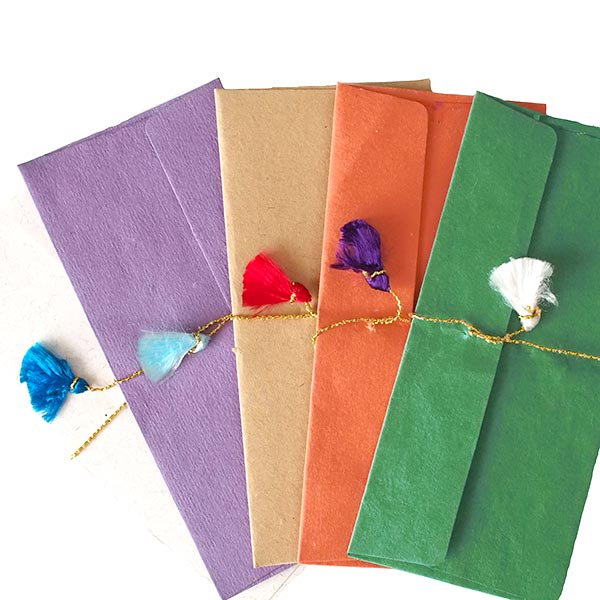 インド chimanlals(チマンラール) の封筒 ゾウ B【画像6】