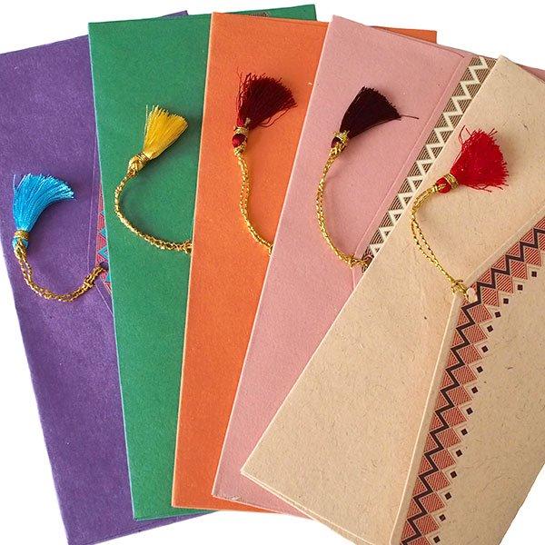 インド chimanlals(チマンラール)の封筒 ペイズリー【画像3】