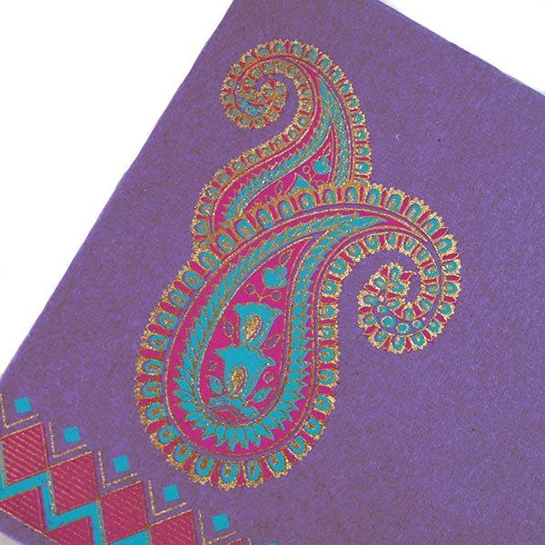 インド chimanlals(チマンラール)封筒 DHANANJAY ペイズリー A【画像4】