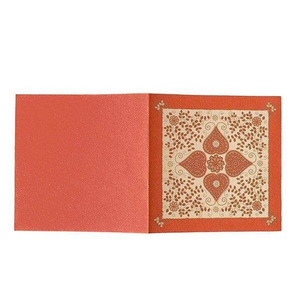 インド chimanlals(チマンラール) メッセージカード(模様 封筒付き B)【画像5】