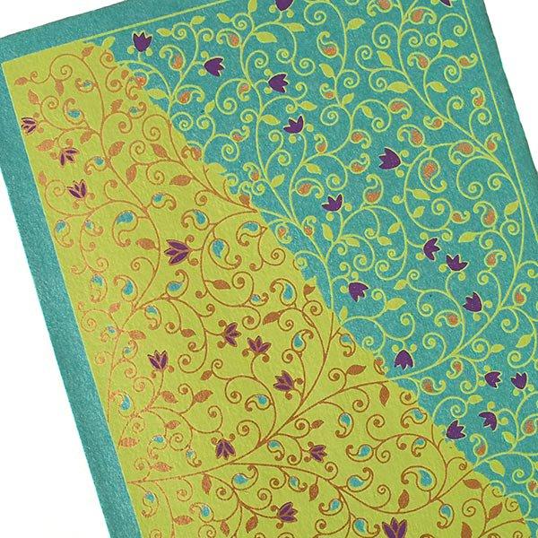 インド chimanlals(チマンラール)ツルクサ メッセージカード(封筒付き)【画像4】