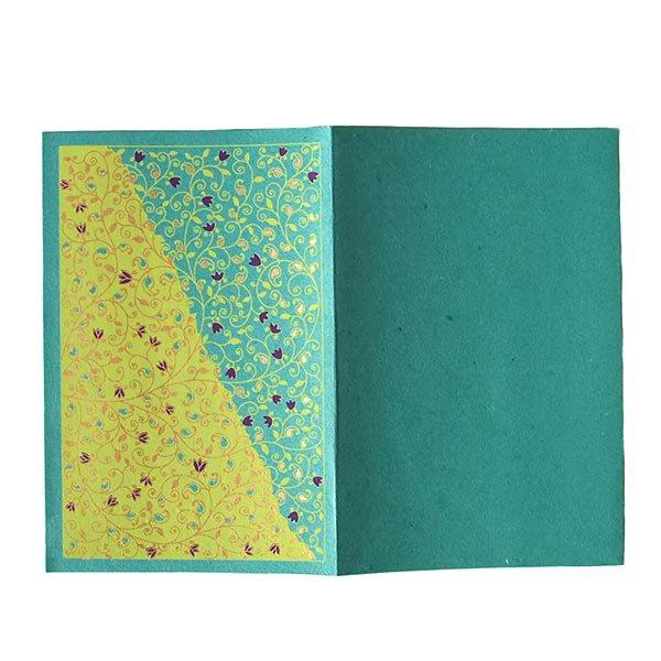 インド chimanlals(チマンラール)ツルクサ メッセージカード(封筒付き)【画像5】