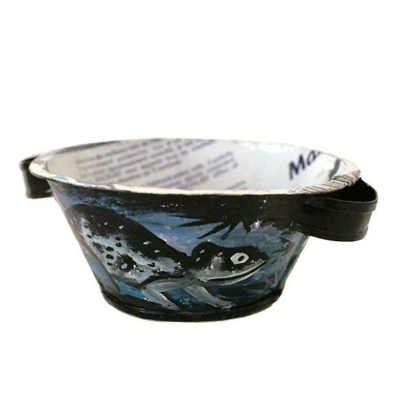 マダガスカル  リサイクル缶 小物入れ(たらい)【画像2】