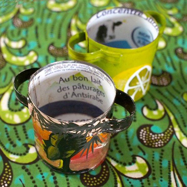 マダガスカル  リサイクル缶の小物入れ(お鍋)【画像6】
