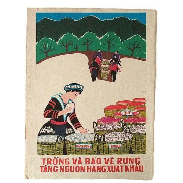 ベトナム プロパガンダ アート ポスター(L)