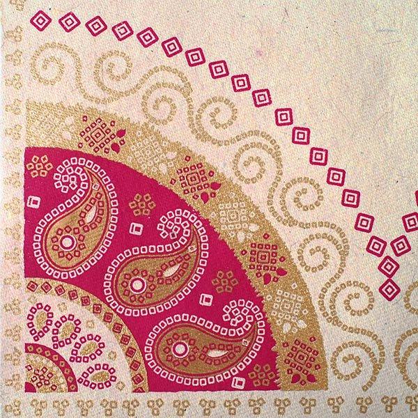 インド chimanlals(チマンラール)の封筒 ペイズリーB【画像4】