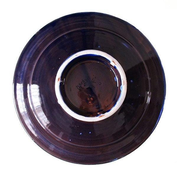 モロッコ サフィ 陶器 皿(ブルー 20cm)【画像2】