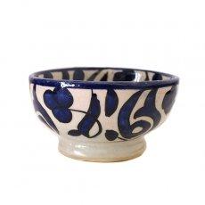モロッコ フェズ 陶器 ボウル  小(ブルー 9cm)