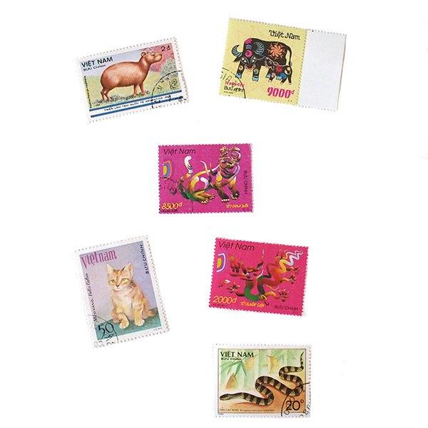 ベトナム 十二支 切手コレクション【画像2】