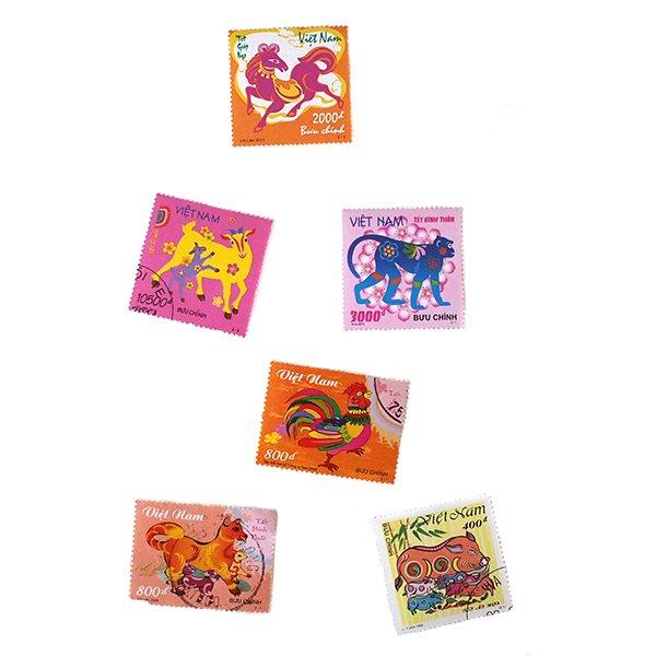 ベトナム 十二支 切手コレクション【画像3】
