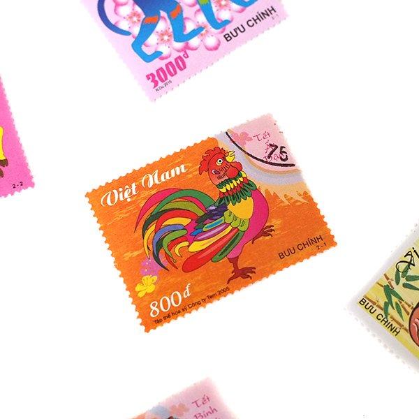 ベトナム 十二支 切手コレクション【画像4】