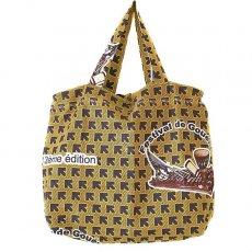 世界に繋がるお買い物 マリ 足踏みミシンで仕立てた パーニュ 巾着 エコバッグ(音楽フェス)