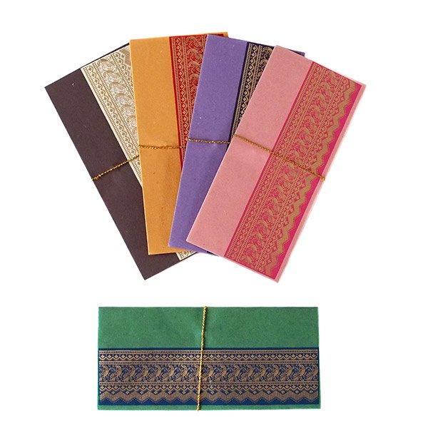 インド chimanlals(チマンラール)の封筒 トリ