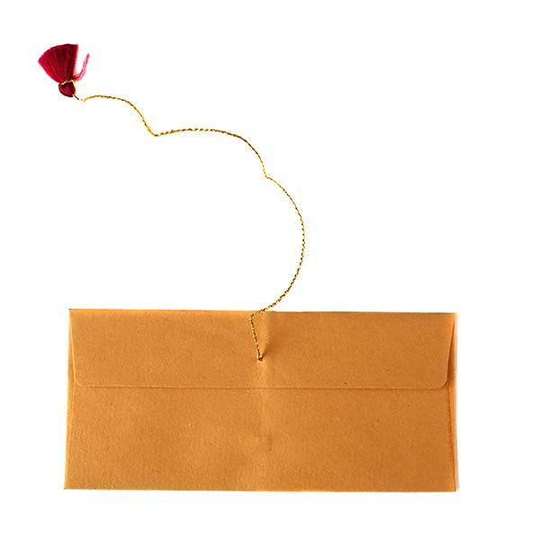インド chimanlalsの封筒(ツルクサ)