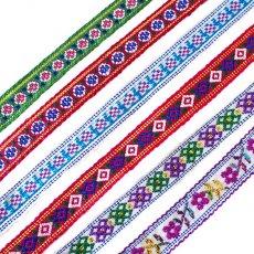 ベトナム 少数民族 刺繍 ベトナム 少数民族 カラフル ミサンガ(B)