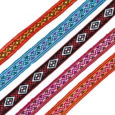 ベトナム 少数民族 刺繍 ベトナム 少数民族 カラフル ミサンガ(C)