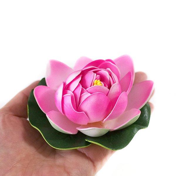 ベトナム 睡蓮(スイレン)の造花(6色 11cm)【画像5】