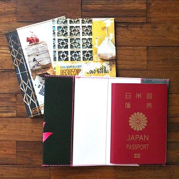 ベトナム パスポートケース(ハス・鳥かご・路地 hem)【画像6】
