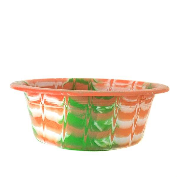 セネガル プラスチック 洗面器(直径 32cm ピンク)