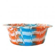 セネガル プラスチック 洗面器(直径 32cm ブルー)
