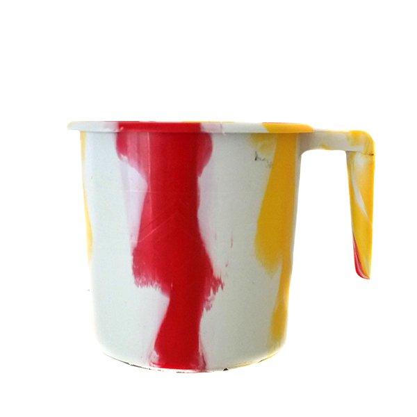 セネガル プラスチックコップ(1リットル ホワイト)
