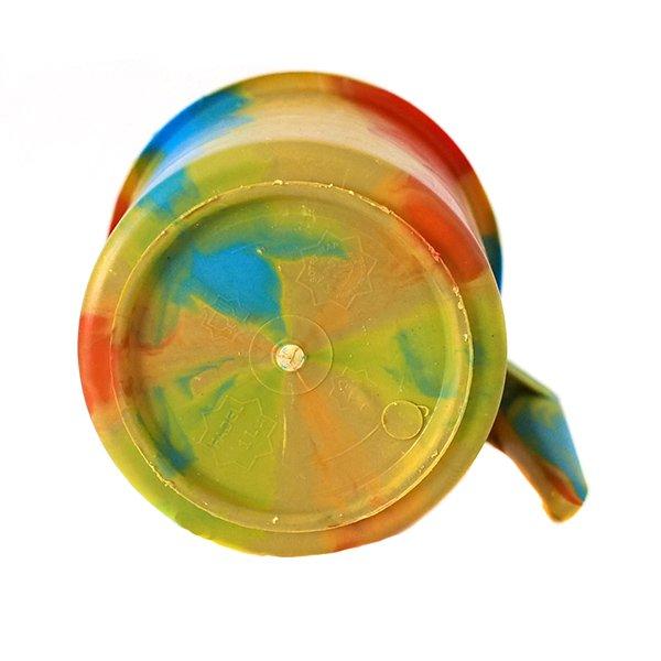 セネガル プラスチックコップ(1リットル イエロー×オレンジ)【画像2】