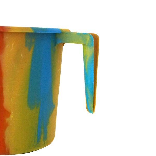 セネガル プラスチックコップ(1リットル イエロー×オレンジ)【画像3】