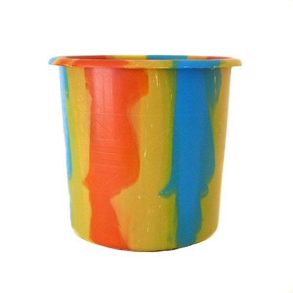 セネガル プラスチックコップ(1リットル イエロー×オレンジ)【画像4】