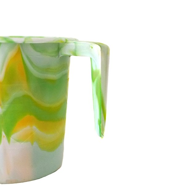 セネガル プラスチックコップ(0.4リットル グリーン)【画像2】