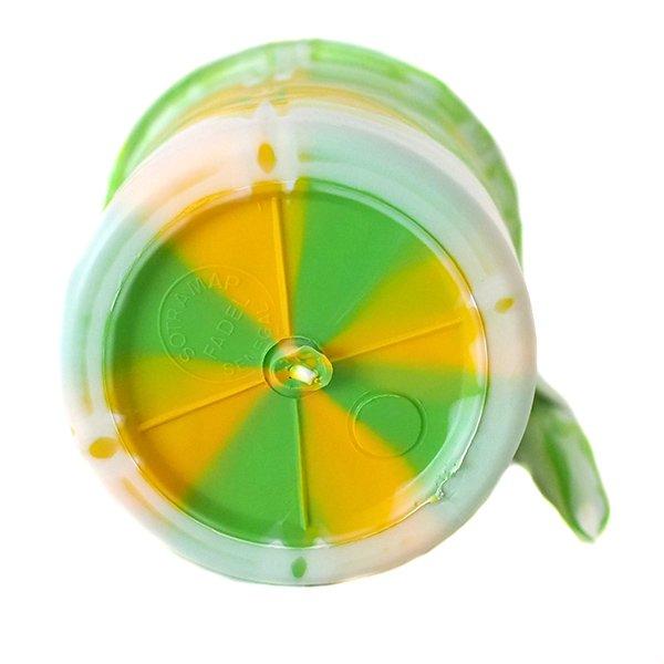 セネガル プラスチックコップ(0.4リットル グリーン)【画像3】