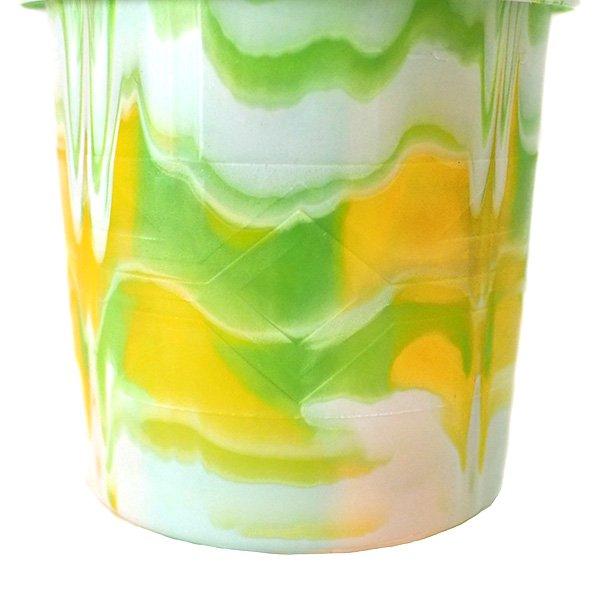 セネガル プラスチックコップ(0.4リットル グリーン)【画像4】